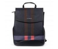Рюкзак ALEX RAI 06-1 8504-8P женский черный