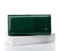 Кошелек SERGIO TORRETTI W1-V женский кожаный зеленый