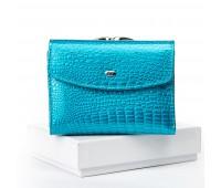 Кошелек SERGIO TORRETTI WS-11 женский кожаный голубой