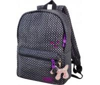 Рюкзак Winner 223 подростковый темно-серый для девочек