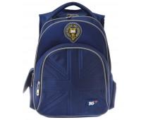 Рюкзак YES Oxford S-27 школьный синий