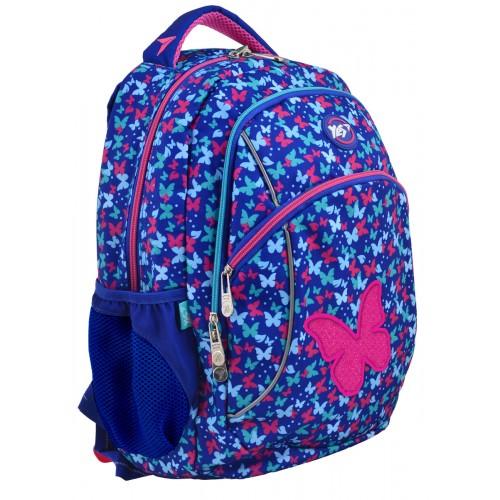 Рюкзак Yes T-45 Grace 556701 школьный синий