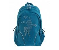 Рюкзак YES T-26 Lolly Unicorn 556491 школьный бирюзовый