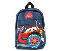 Рюкзак Aimina Cars Тачки Молния Маквин 5208  дошкольный с кошельком темно-синий