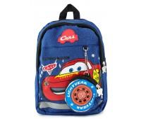 Рюкзак Aimina Cars Тачки Молния Маквин 5208  дошкольный с кошельком синий