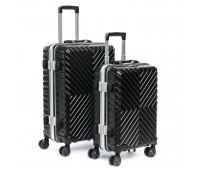 Комплект чемоданов PODIUM 2/1 ABS-пластик 07 черный