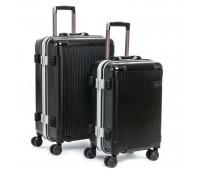 Комплект чемоданов PODIUM 2/1 ABS-пластик 04 черный