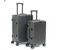 Комплект чемоданов PODIUM 2/1 ABS-пластик 06 серый