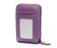 Кошелек Baigou H862-3 женский кожаный фиолетовый