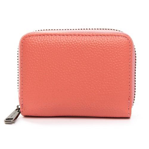 Кошелек Baigou F3984-5 женский кожаный розовый