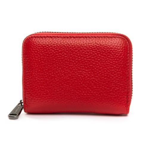 Кошелек Baigou F3984-2 женский кожаный красный