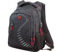 Рюкзак Winner Stile 395-6 подростковый черный с красным