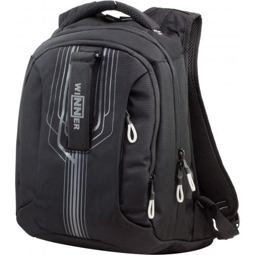 Рюкзак Winner Stile 399-9 подростковый черный