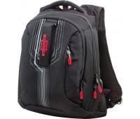 Рюкзак Winner Stile 399-9 подростковый черный с красным