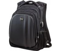 Рюкзак Winner Stile 410 подростковый черный с серым