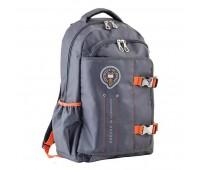 Рюкзак YES OX 302 школьный серый