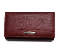 Кошелек Tailian MNB715-3Н09 женский кожаный бордовый