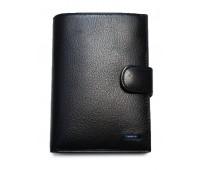 Кошелек VERITY MNB132-22 мужской кожаный черный