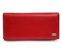 Кошелек Balisa MNB100-1013 женский кожаный темно-красный