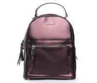 Рюкзак ALEX RAI 08-2 8695-2 женский кожаный коричневый