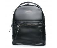 Рюкзак ALEX RAI 08-2 8695-2 женский кожаный черный