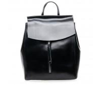 Рюкзак  ALEX RAI 7-02 3206 женский кожаный черный