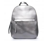 Рюкзак  ALEX RAI 08-2 337 женский кожаный серый