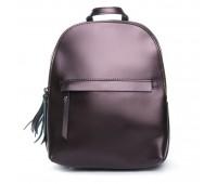 Рюкзак  ALEX RAI 08-2 337 женский кожаный коричневый