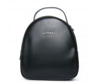 Рюкзак ALEX RAI 08-3 1189-220 женский кожаный черный