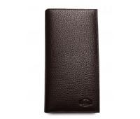 Кошелек  Verity MNB21-HS04 мужской кожаный коричневый