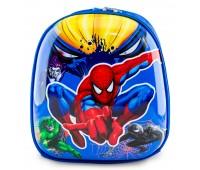 Рюкзак дошкольный для мальчика Cappuccino Toys Человек Паук плотный корпус синий