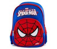 Рюкзак дошкольный для мальчика Aimina Человек Паук синий