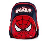 Рюкзак дошкольный для мальчика Aimina Человек Паук темно-синий