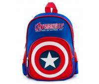 Рюкзак дошкольный для мальчика Aimina Капитан Америка синий