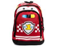 Рюкзак детский дошкольный Aimina Тачки Cars 5216 красный