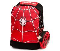 Рюкзак детский дошкольный Aimina Человек Паук Spiderman 5205 с кошельком красный