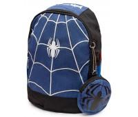 Рюкзак детский дошкольный Aimina Человек Паук Spiderman 5205 с кошельком синий