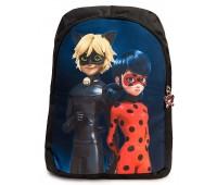 Рюкзак детский дошкольный Aimina Леди баг 042 черный