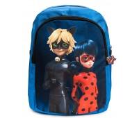 Рюкзак детский дошкольный Aimina Леди баг 042 голубой