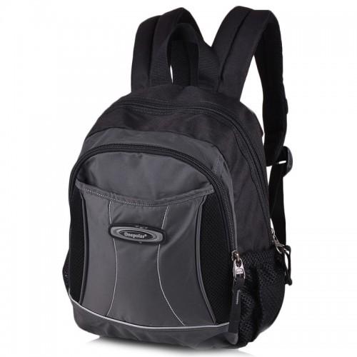 Рюкзак ONEPOLAR W1296 школьный серый