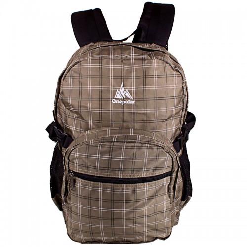 Рюкзак ONEPOLAR W1573 школьный хаки