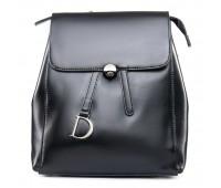 Рюкзак женский кожаный ALEX RAI 09-3 360 черный