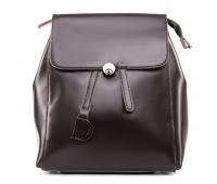 Рюкзак женский кожаный ALEX RAI 09-3 360 коричневый