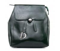 Рюкзак женский кожаный ALEX RAI 09-3 360 зеленый