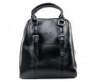Рюкзак женский кожаный ALEX RAI 09-3 8778 черный
