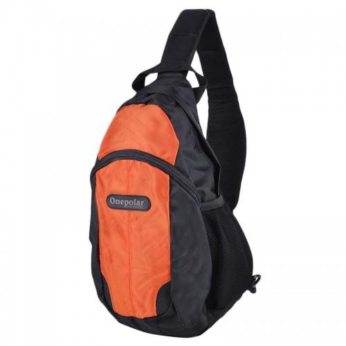Рюкзак ONEPOLAR 1292 мужской оранжевый