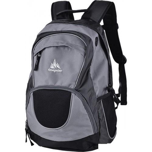 Рюкзак ONEPOLAR W1674 мужской серый