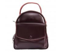 Рюкзак женский кожаный ALEX RAI 09-2 2229-220 бордовый