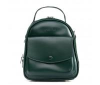 Рюкзак женский кожаный ALEX RAI 09-2 2229-220 зеленый