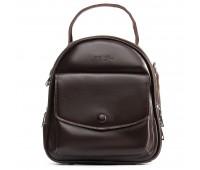 Рюкзак женский кожаный ALEX RAI 09-2 2229-220 коричневый